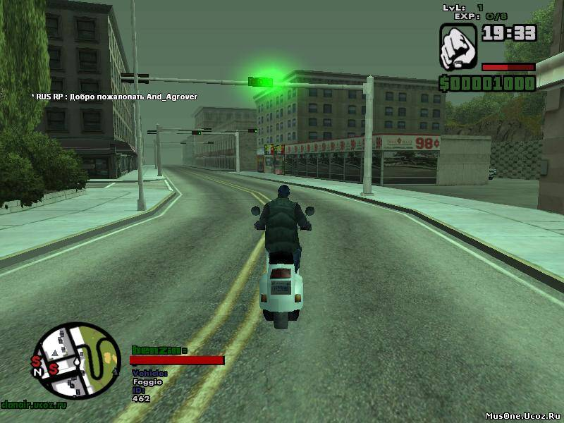 GTA Grand Theft Auto: San Andreas MultiPlayer v03z